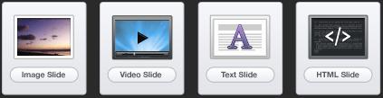 A  SlideDeck Custom Slide Types