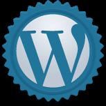 WordPress badge