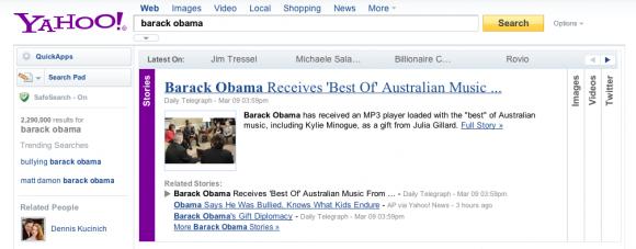 Yahoo! SlideDeck