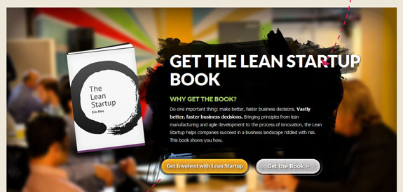 the lean startup call to action