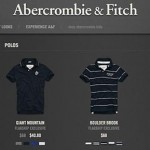 Cut the clutter – just like Abercrombie & Fitch