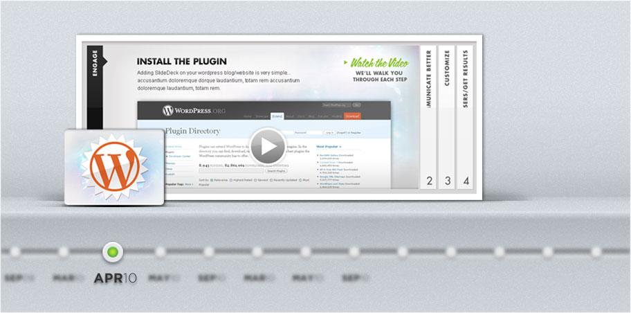 SlideDeck 1.0 for WordPress Launches