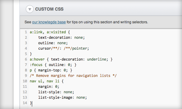 The new CSS Editor in SlideDeck 2.2