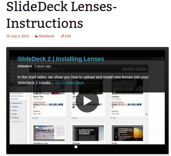 Video Slider