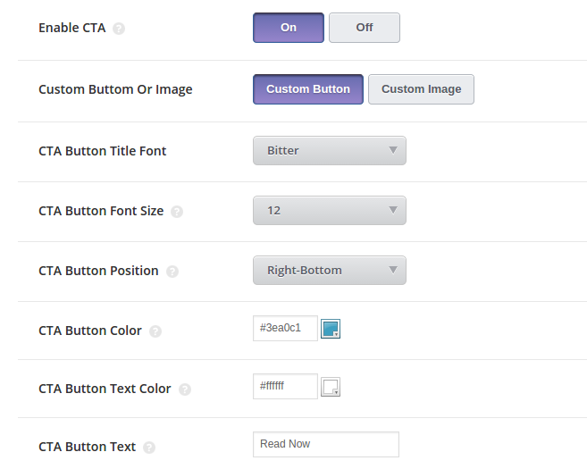 how to create a call to action button in wordpress