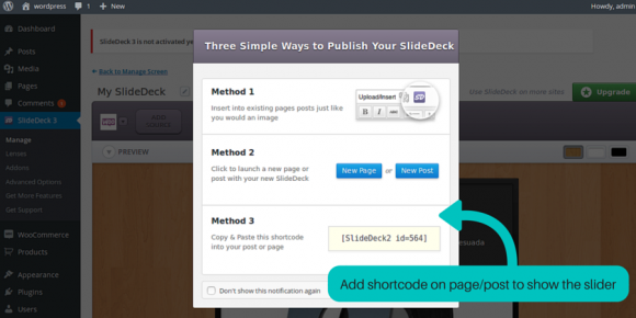 dynamic wordpress slider