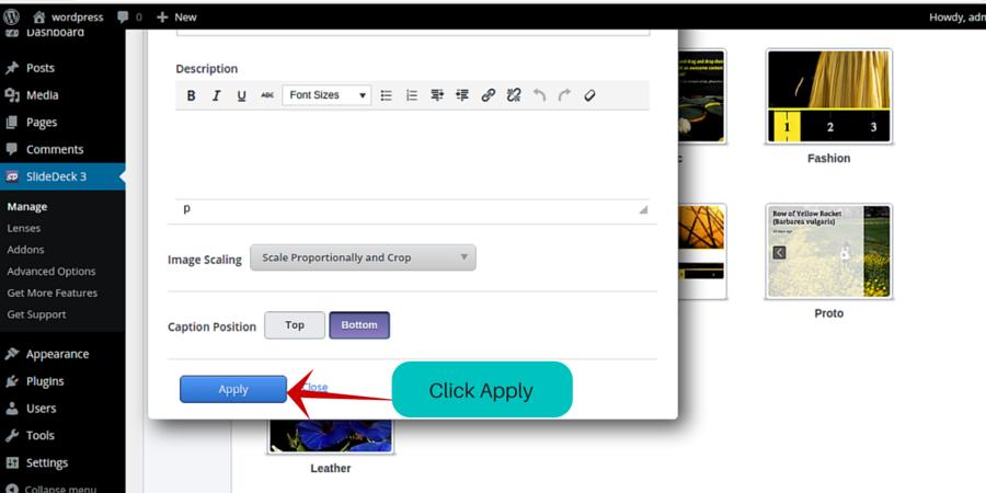 wordpress slider plugin