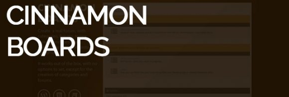 Cinammon boards - WordPress community plugin