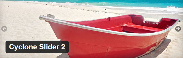 Cyclone slider 2 - Free WordPress slider plugin