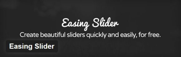 Easing slider - Free WordPress slider plugin