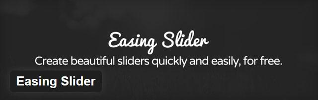 Easing slider - Free WordPress slider plugin