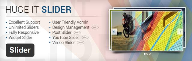 Huge IT slider - Free WordPress slider plugins