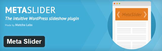 Meta slider - Free WordPress slider plugin