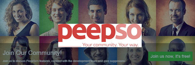 peepso - Website slider