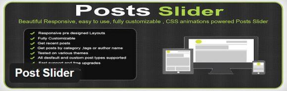 Posts slider - Free WordPress slider plugin
