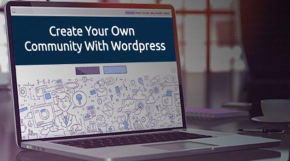 Create community using WordPress community plugins