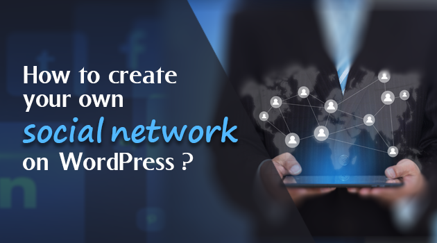 Social network on WordPress