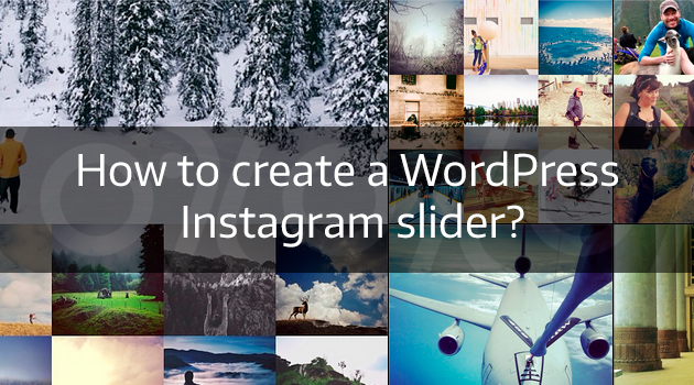 WordPress Instagram slider
