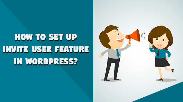 Invite user feature in WordPress