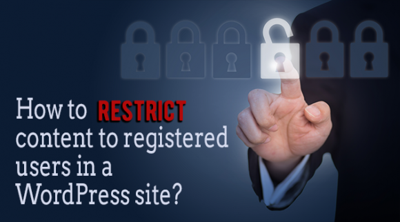 Restrict content in WordPress