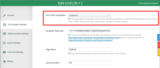 How To Create A Facebook Post Grid For WordPress - Facebook ad grid template