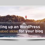 WordPress animated slider