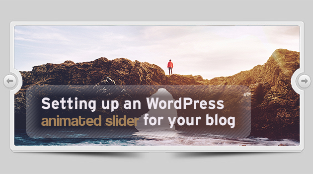 WordPress animated slider