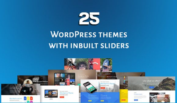 25 + WordPress themes with responsive image sliders