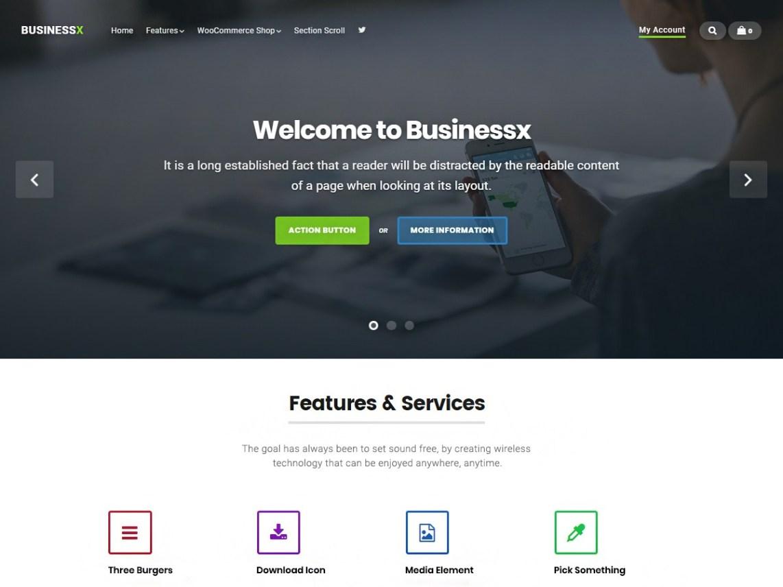 25+ WordPress Themes with an Responsive Image Slider