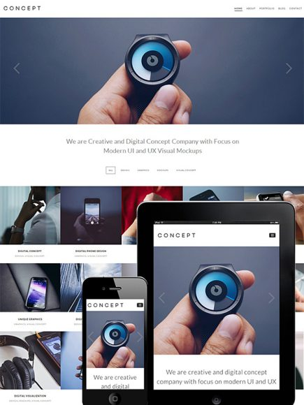 Concept – A NextGen Theme