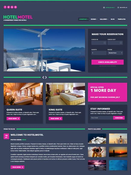 HotelMotel – For Your Hoteling Business