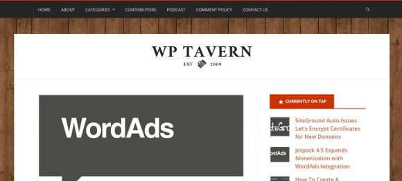 WordPress Tavern