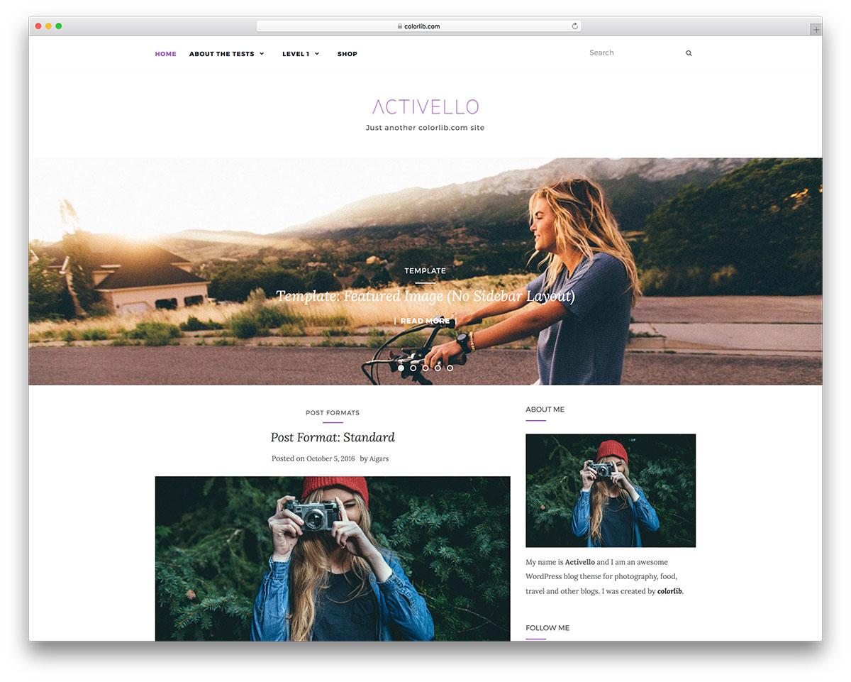 25 Wordpress Themes With An Responsive Image Slider