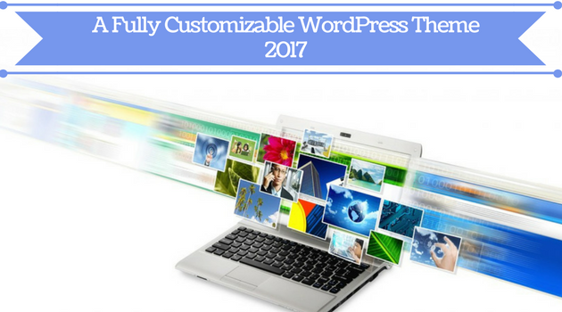 Featured Image - A fully customizable WordPress theme