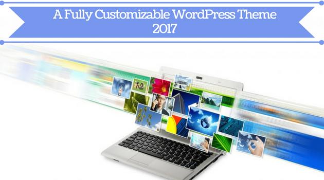Featured Image - A fully customizable WordPress theme