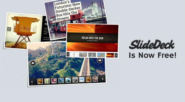 SlideDeck Is Now Free!