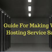 making web hosting service safer