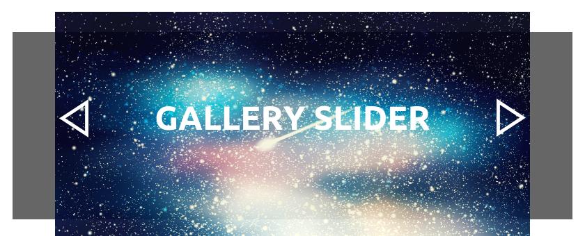 WordPress gallery slider