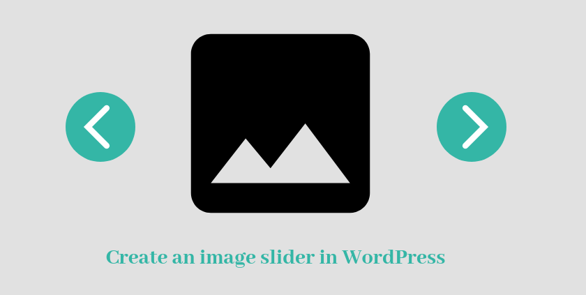 create an image slider