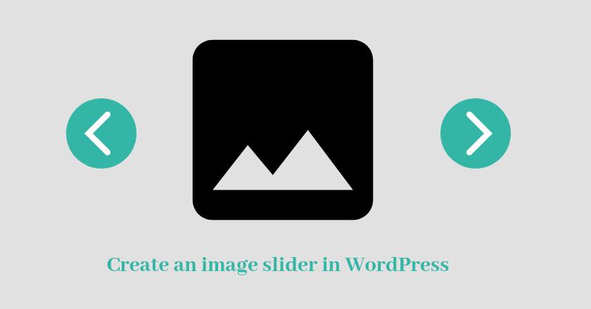 create an image slider