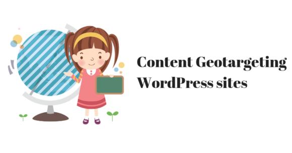 Geotargeting on WordPress sites