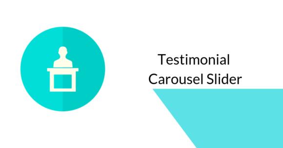 testimonial carousel slider