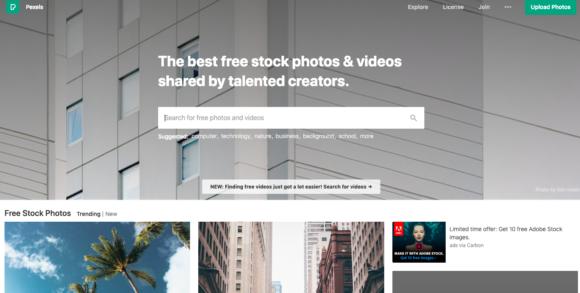 Website slider images