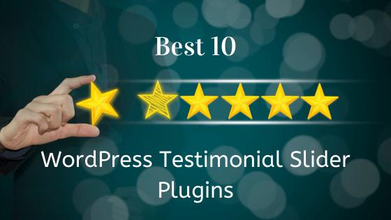 Best 10 WordPress testimonial slider plugins